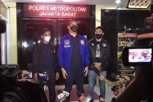 Kasat Narkoba Polres Metro Jakarta Barat, AKBP Ronaldo Maradona Siregar mengatakan, JJ sudah ditetapkan sebagai tersangka. (Foto: Okezone/Adiyoga Priambodo)
