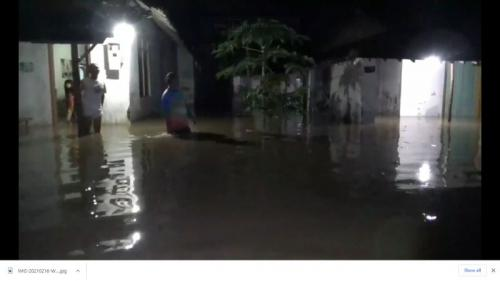 Banjir Ponorogo (Foto : iNews)