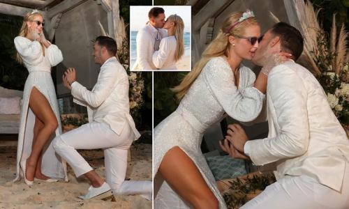 Paris Hilton dan Carter Reum bertunangan. (Foto: Dokpri Paris Hilton)