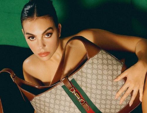 Georgina Rodriguez berfoto untuk majalah (Foto: IG/@instylespain)