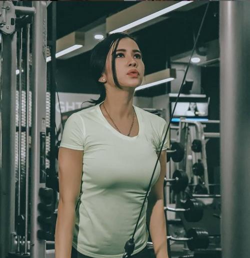 Maria Vania rajin olahraga (Foto: IG/@maria_vaniaa)