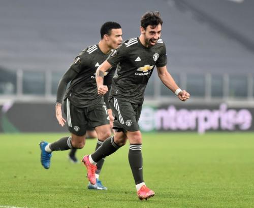 Bruno Fernandes cetak dua gol (Foto: Reuters/Massimo Pinca)
