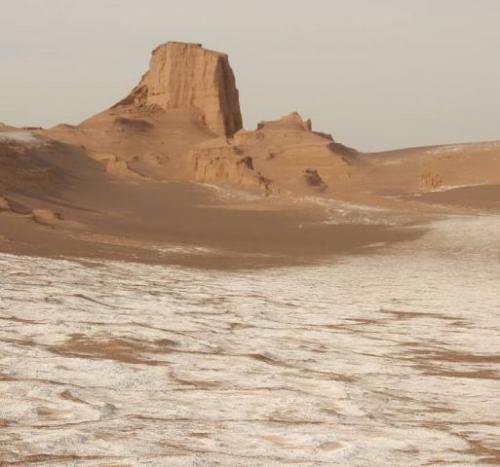 Gurun Dasht-e Lut di Iran jadi tempat terpanas di dunia. (Foto: Instagram @shokoufehfallah)