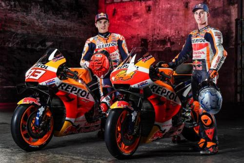 Marc Marquez dan Pol Espargaro (Foto: Honda Racing Corporation)