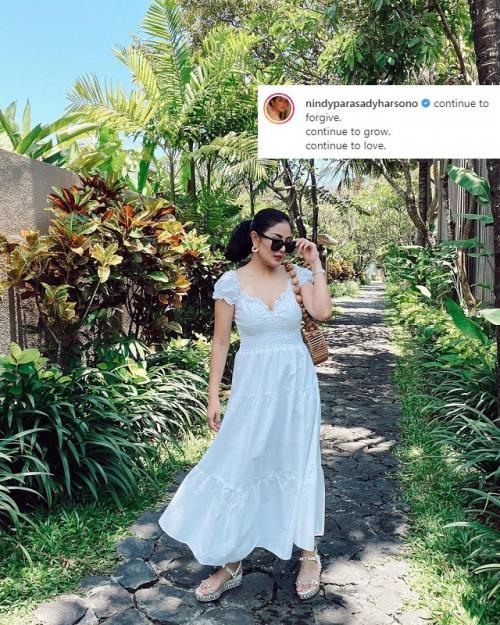 Nindy Ayunda. (Foto: Instagram/@nindyparasadyharsono)