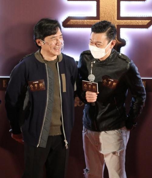 Andy Lau dan Tony Leung. (Foto: Instagram/@hk01entertainment)