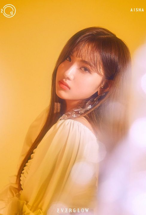 Aisha EVERGLOW. (Foto: Yuehua Entertainment)