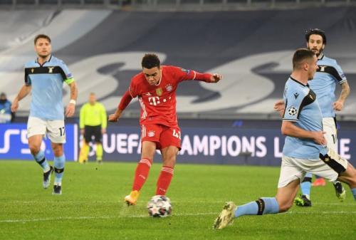 Jamal Musiala menyumbang satu gol (Foto: Reuters)