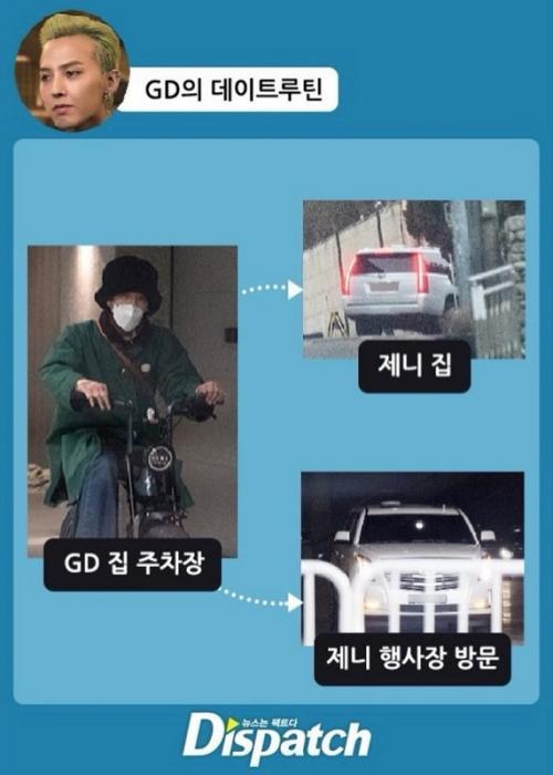 G Dragon dan Jennie BLACKPINK pacaran. (Foto: Dispatch)