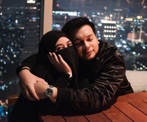 Natta Reza dan Wardah Maulina. (Foto: Instagram/@natta_reza)