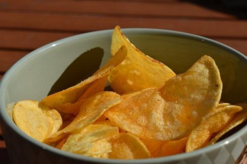 Keripik kentang. (Foto: Misskodak/Pixabay)