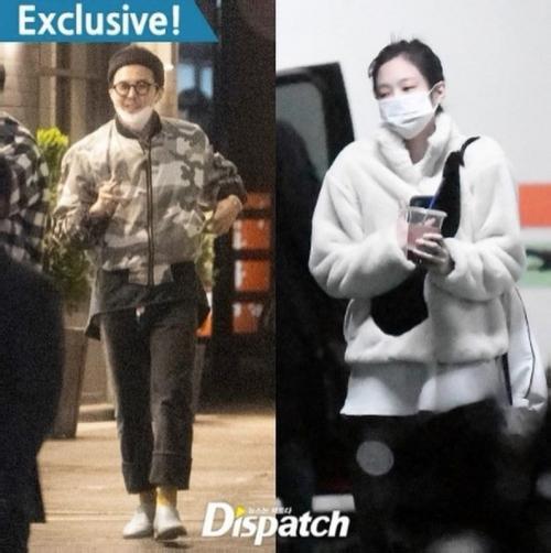 G-Dragon dan Jennie BLACKPINK pacaran. (Foto: Dispatch)