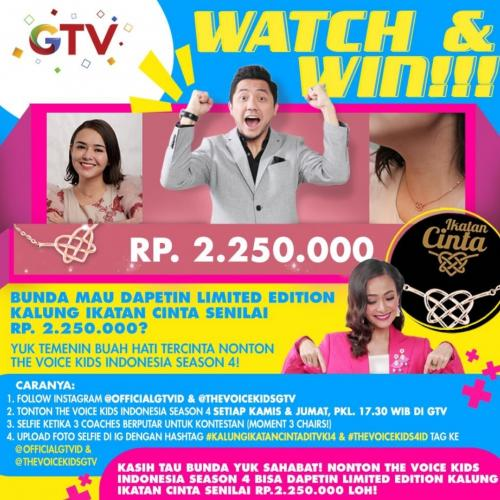 Giveaway The Voice Kids Indonesia