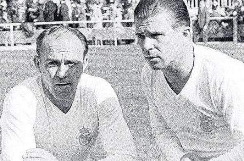 Alfredo Di Stefano dan Ferenc Puskas