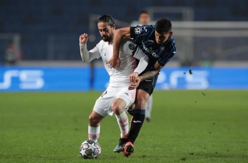 Aksi Isco saat membela Real Madrid