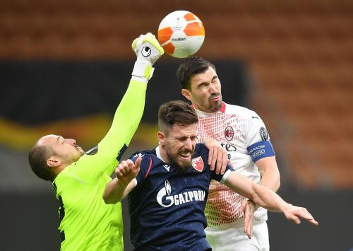 AC Milan vs Red Star Belgrade (Foto: Reuters)