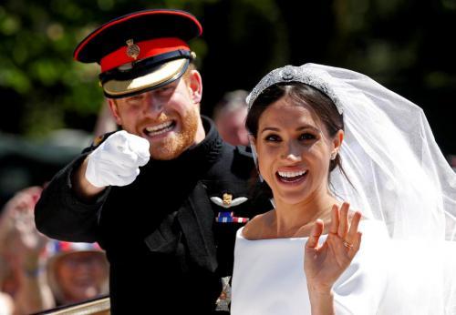 Pangeran Harry dan Meghan Markle, Foto: Damir Sagolj/Reuters