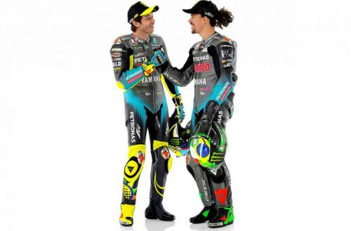 Franco Morbidelli bersama Valentino Rossi (Foto: MotoGP)