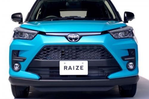 Toyota Raize muka