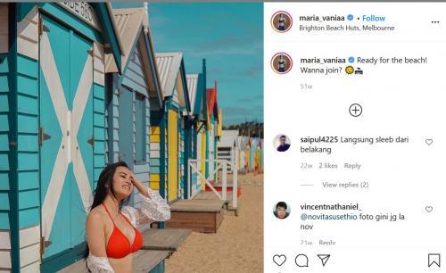 Maria Vania (Foto: Instagram/@maria_vaniaa)