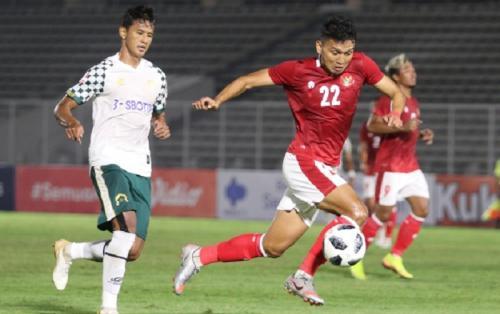 Timnas Indonesia U-23 vs PS Tira Persikabo (Foto: Laman resmi PSSI)