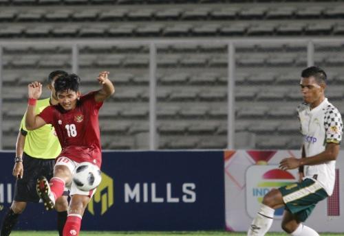 Timnas Indonesia U-23 vs PS Tira Persikabo