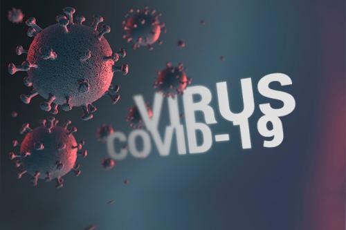 Ilustrasi virus corona B117. (Foto: Okezone)