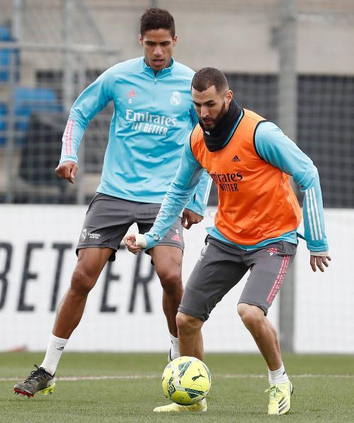 Benzema telah kembali berlatih
