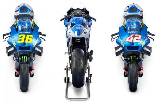 Motor Suzuki di MotoGP 2021