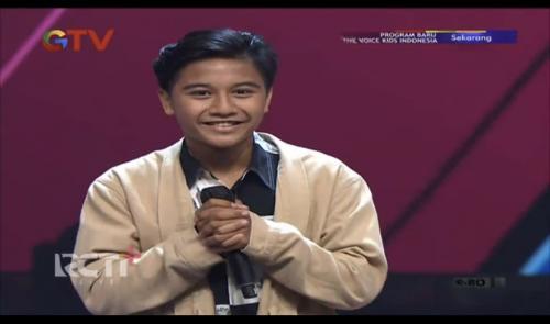 Zibran The Voice Kids Indonesia