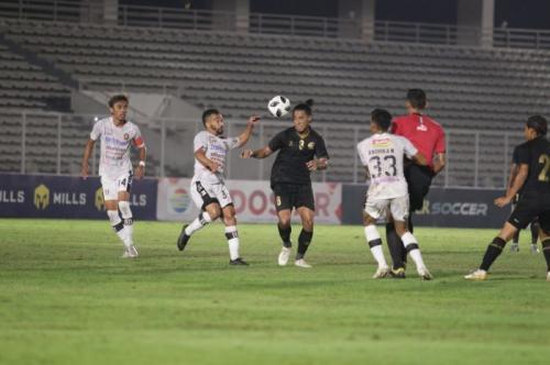 Suasana pertandingan Timnas Indonesia U-23 vs Bali United (Foto: PSSI)