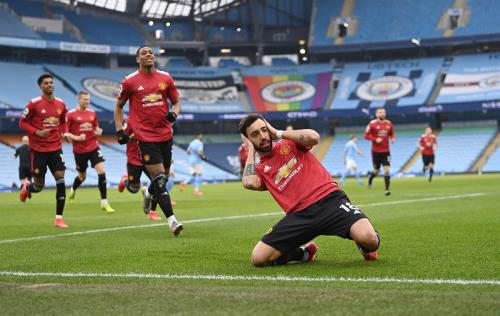Man United menang atas Man City pekan lalu (Foto: Reuters/Laurence Griffiths)