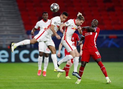 Liverpool vs Leipzig (Foto: Reuters)