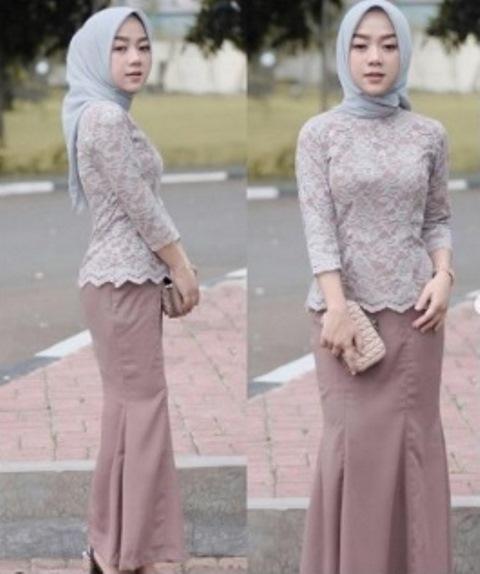 Model gaun pesta Muslimah. (Foto: Instagram @cherylraissa)