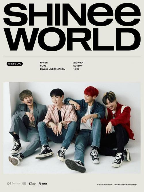 SHINee WORLD. (Foto: SM Entertainment)