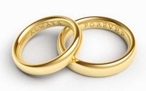 Cincin pernikahan. (Foto: Shutterstock)