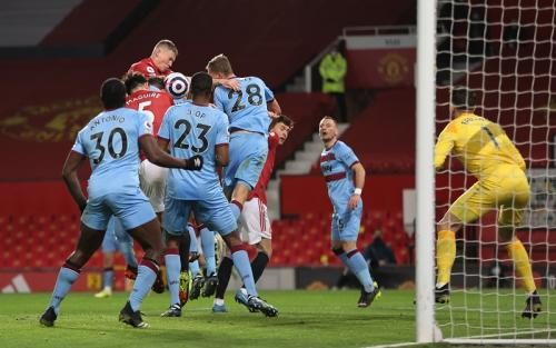 Man United menang 1-0 atas West Ham (Foto: Reuters/Clive Brunskill)