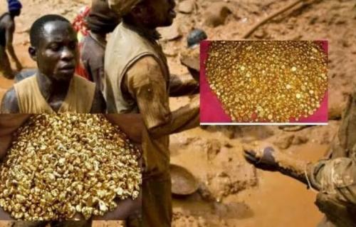 Warga Serbu Gunung Emas di Kongo