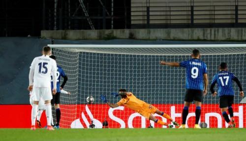 Atalanta tersingkir oleh Real Madrid (Foto: Reuters)