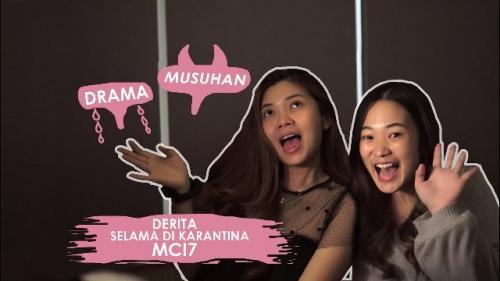 Nindy dan Becca MCI berbagi tips tentang make-up. (Foto: YouTube Nindy S Official)
