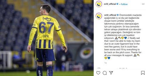 Mesut Ozil (Foto: Instagram/@m10_official)