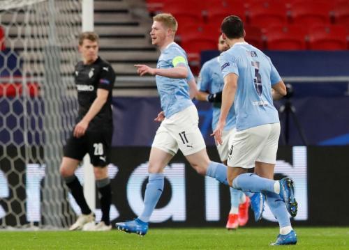 Man City vs Monchengladbach