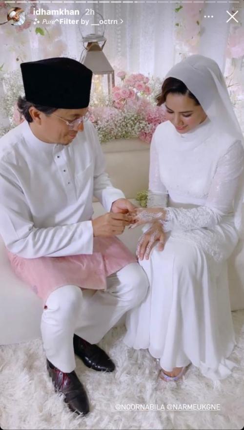 Engku Emran menikah