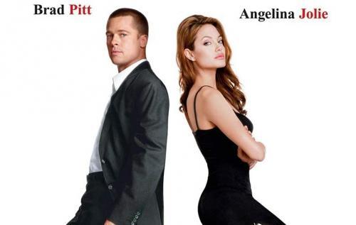 Angelina Jolie dan Brad Pitt