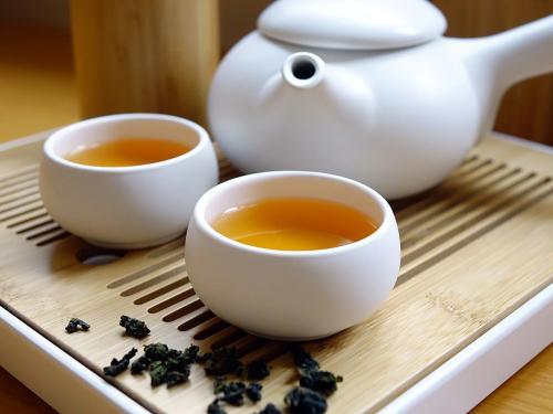 Ilustrasi minuman teh bunga.