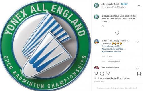Instagram All England