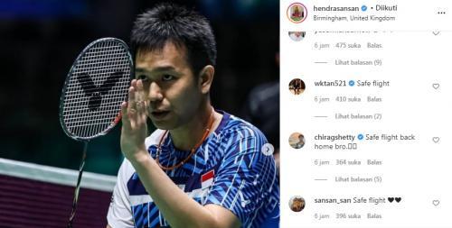 Instagram Hendra Setiawan