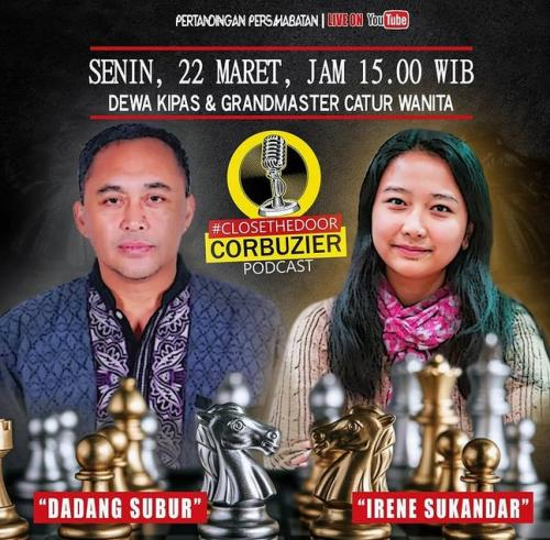 Dewa Kipas vs Irene Kharisma Sukandar