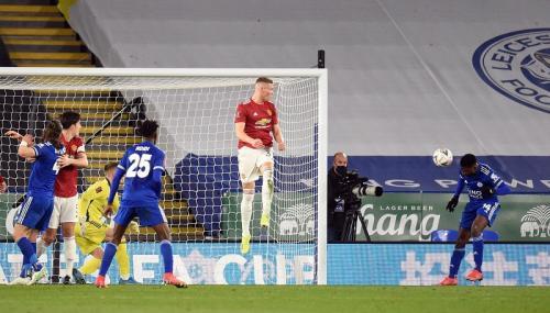 Man United tersingkir dari Piala FA oleh Leicester City (Foto: Reuters/Oli Scarff)