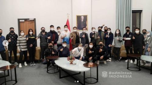 Tim Indonesia untuk All England 2021 (Foto: PBSI)